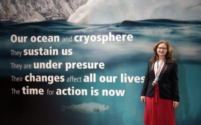 Young Basel bidder travels to the World Climate Summit with a Federal Council delegation